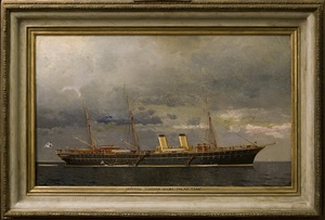 imperial russian yacht polar star by leonid demyanovich blinov