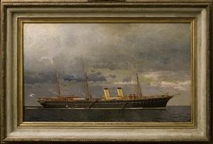 imperial russian yacht polar star by leonid demyanovich blinov