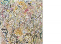 sweet mountain cat by larry poons