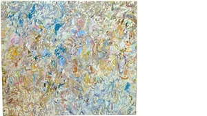 lindy clear by larry poons