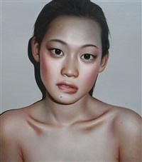 gazing by zhang xiangming