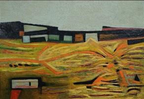 paisaje de san ángel by gunther gerzso