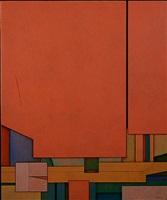 rojo-azul-naranja by gunther gerzso