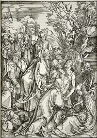 deposition: the large passion by albrecht dürer
