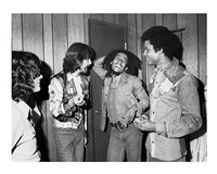 george harrison meets bob marley backstage at the roxy by kim gottlieb-walker