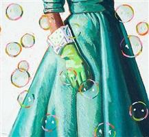 bubble study by kelly reemtsen