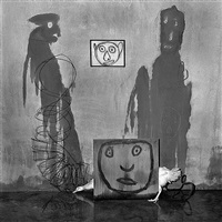 transformation (from asylum series) by roger ballen