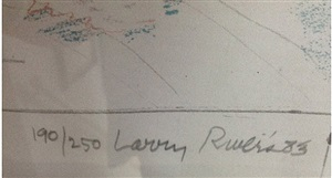 bronx zoo—signature by larry rivers