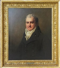 half length portrait of mr. robertson by sir henry raeburn