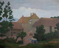 stoneacre farm, no. 2 by robert polhill bevan