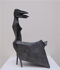 maquette iv - high wind c-1 by lynn chadwick