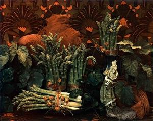 asparagus ii by marie cosindas