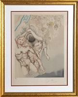 we shall go up at once from the aliyah suite by salvador dalí