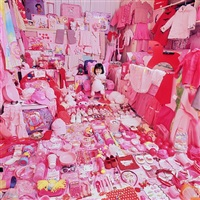 minji suh and her pink things by yoon jeongmee