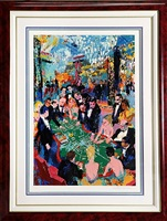 baccarat by leroy neiman