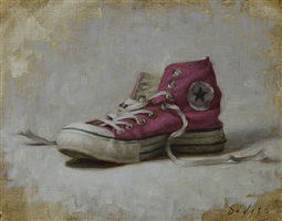 pink converse by grace mehan de vito