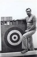 jasper johns, october 14, 1977 by fred w. mcdarrah
