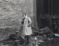 robert rauschenberg, january 15, 1961 by fred w. mcdarrah