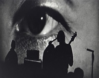 the velvet underground, big eye of nico, april 1, 1966 by fred w. mcdarrah
