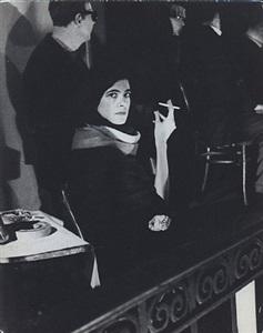 susan sontag at mills hotel sex symposium, december 2, 1962 by fred w. mcdarrah