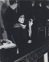 susan sontag at mills hotel sex symposium, december 2, 1962 by fred w. mcdarrah