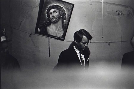 robert kennedy in slum apartment, may 8, 1967 by fred w. mcdarrah