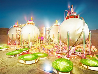 land scape anaheim by david lachapelle