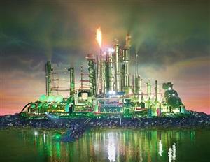 land scape emerald city by david lachapelle