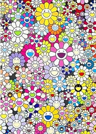 homage to yves klein by takashi murakami