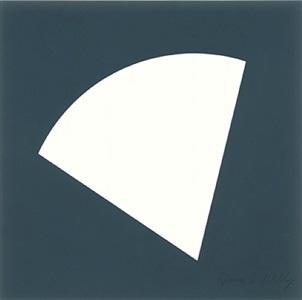 white curve by ellsworth kelly