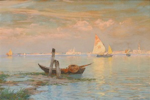 venice and posts by walter launt palmer