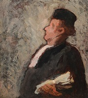 un juge by honoré daumier