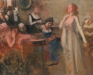 the recital by jean louis forain