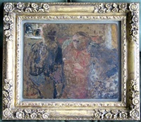 self portrait – la famille vuillard by edouard vuillard