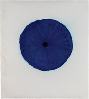 blue trumpet dec 4 2013 by donald sultan
