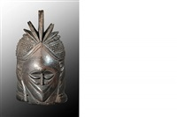 mende bundu mask, african art by unknown