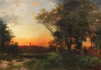 landscape near cuernavaca, mexico by thomas moran