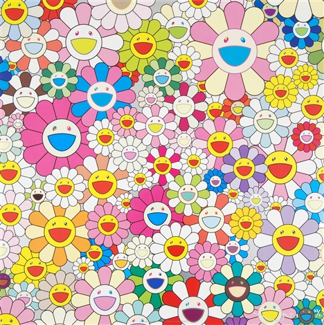 flower smile by takashi murakami