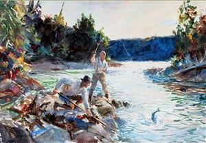 salmon water by john whorf