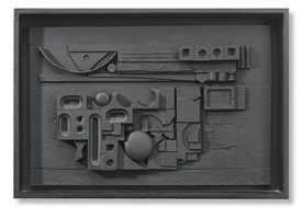 sun-set by louise nevelson