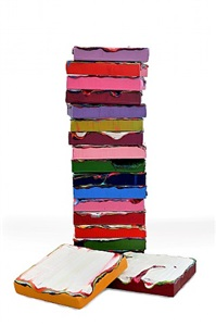 stack #2, i and ii by jane lee
