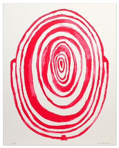 untitled (circle maze) by louise bourgeois