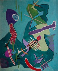 untitled abstraction by rolph scarlett