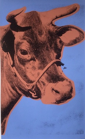 cow (11a) by andy warhol