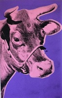 cow (12a) by andy warhol