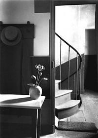 chez mondrian, paris, 1926 by andré kertész