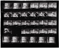 marilyn contact sheet by lawrence schiller