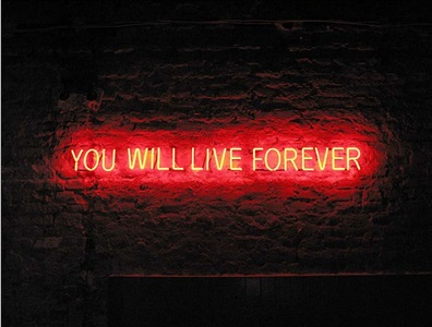 tim etchells live forever by tim etchells
