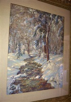 melting snow by walter launt palmer
