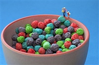 cereal ball pit by christopher boffoli